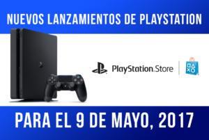 Nuevos lanzamientos de PlayStation para el 9 de mayo
