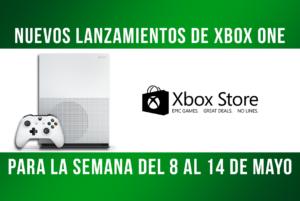 Nuevos lanzamientos de Xbox del 8 al 14 de Mayo