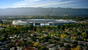 Así va luciendo el nuevo campus de Apple en Cupertino