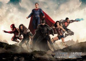 Presentan nuevos pósters de Justice League