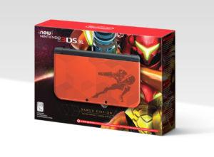Nintendo reveló nuevo Nintendo 3DS XL Samus Edition