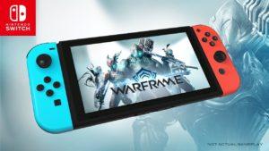 Warframe en camino hacia el Nintendo Switch