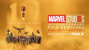 Los 10 años de Marvel Studios llegan a IMAX en Puerto Rico