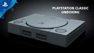 Sony presenta su unboxing oficial del PlayStation Classic