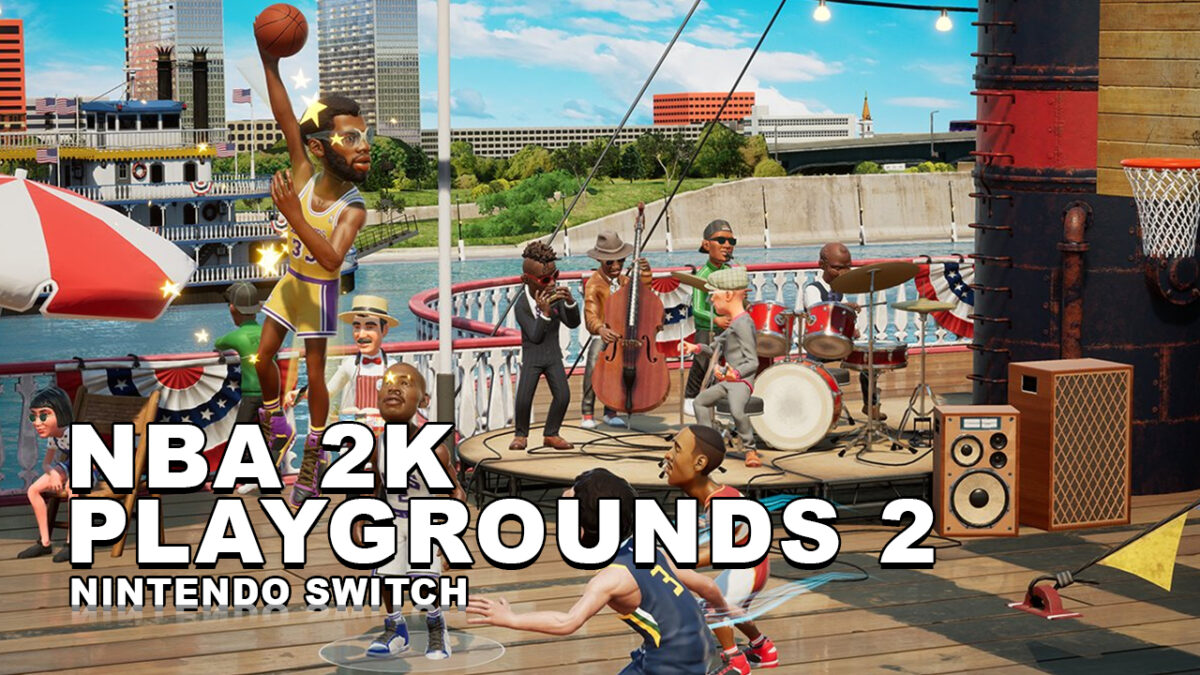 NBA 2K Playgrounds 2 – Disponible ya en formato físico para Nintendo Switch