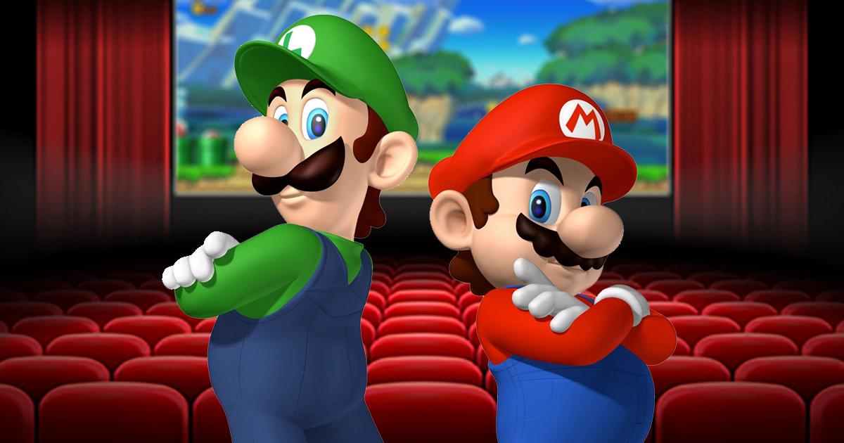 Mario brinca nuevamente de las consolas al cine
