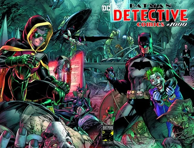 Batman Detective Comic #1000: 80 años de Batman