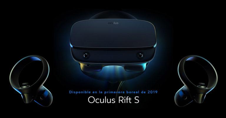 [Oficial] Anuncian el nuevo Oculus Rift S ofreciendo mejor resolución y sensores integrados