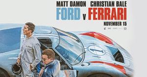 Ya esta disponible el trailer de FORD V. FERRARI con Christian Bale y Matt Damon