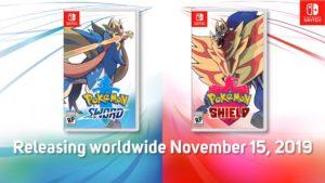 Pokémon Shield y Pokémon Sword ya cuenta con fecha de lanzamiento